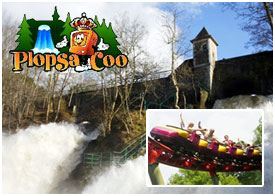 PLOPSA COO - Parc d'attraction de la Cascade de Coo (5 km)