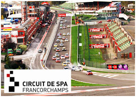 Spa-Francorchamps,  circuit,  courses automobiles, Belgique